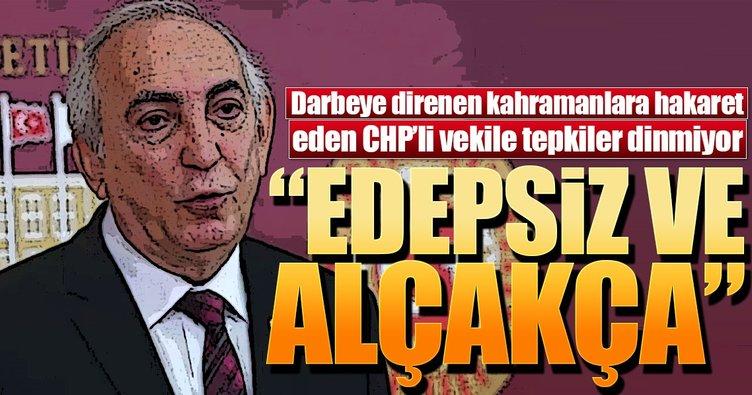 Adalet Bakanı Gül'den CHP'li Aldan'a sert tepki