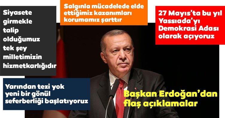 Son Dakika Haberi: Başkan Erdoğan'dan flaş açıklamalar