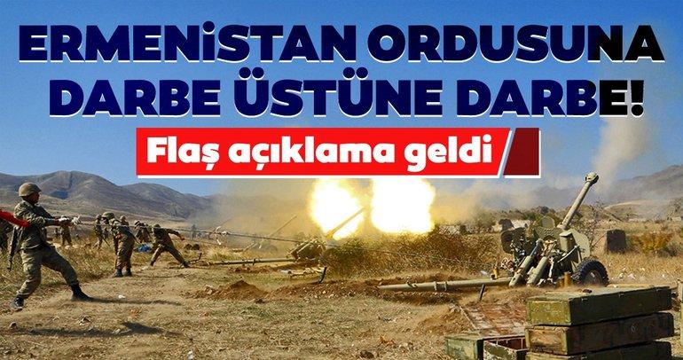 Son dakika: Azerbaycan Ermenistan savaşında son durum! Ermeni kayıpları artıyor