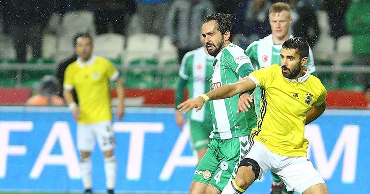 Fenerbahçe ile Konyaspor 34. maça çıkıyor