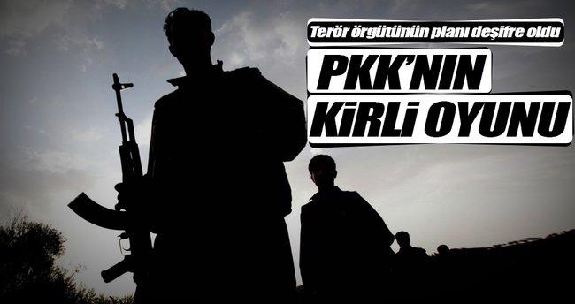 PKK'nın kirli oyunu