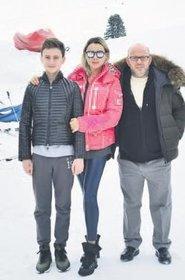 Sosyete Kayak Sezonunu Açtı Bülent Cankurt