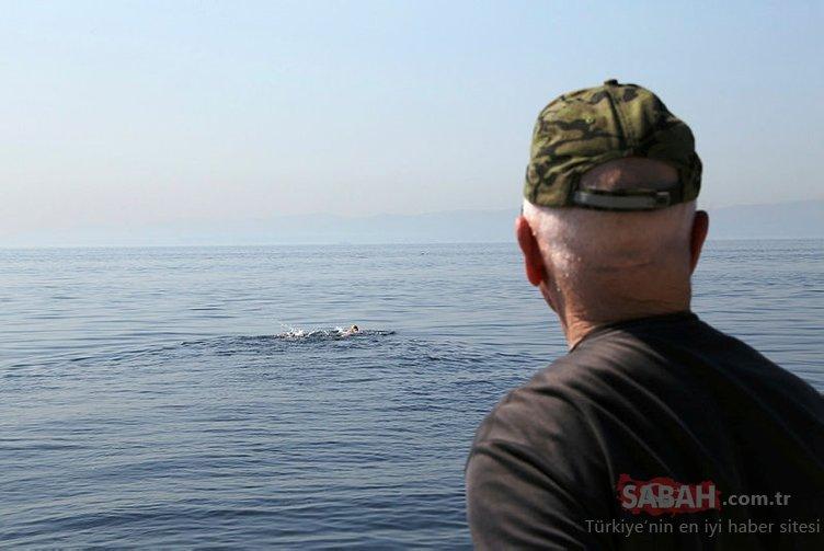 Kabotaj Bayramı'nı, İstanbul'dan Yalova'ya yüzerek kutladılar