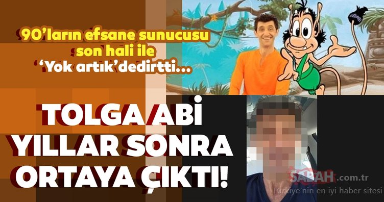 Hugo'nun Tolga Abi'si son hali ile yok artık dedirtti! 90'ların efsane sunucusu 'Tolga Abi' Tolga Gariboğlu geri döndü...