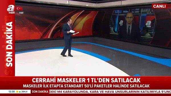 Maskede Tavan Fiyat Belli Oldu! / A Haber