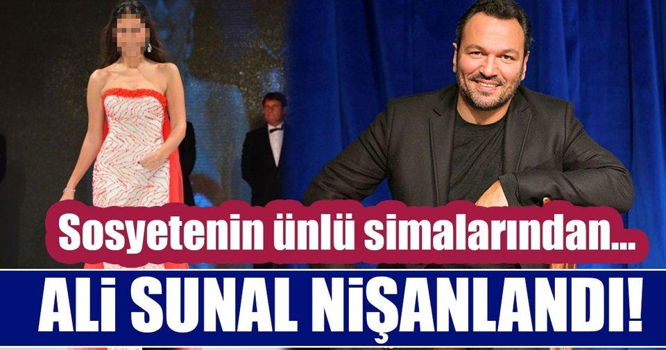ünlü Oyuncu Ali Sunal Ve Nazlı Kurbanzade Nişanlandı Nazlı