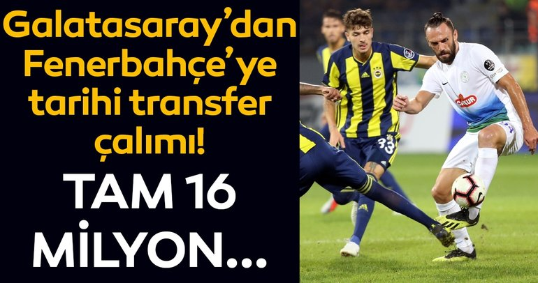 Galatasaray'dan Fenerbahçe'ye tarihi transfer çalımı! Vedat Muriç...