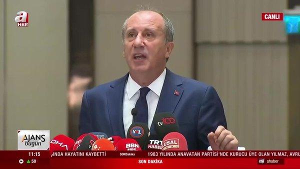 Son dakika! CHP'li Muharrem İnce kurduğu kadrodaki isimleri canlı yayında açıkladı! İşte Memleket Hareketi kadrosu... | Video