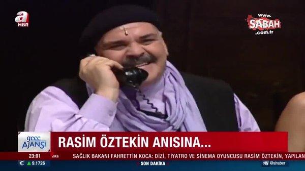 Son Dakika Haberi: Rasim Öztekin hayatını kaybetti! Ünlü sanatçı Öztekin'in vefat haberini Bakan Koca duyurdu | Video