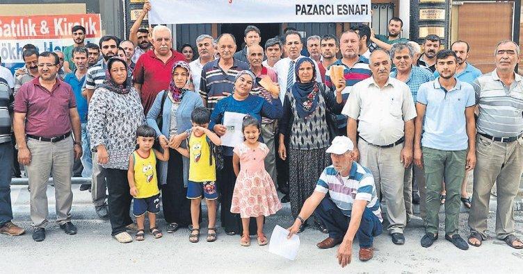 Pazarcılar başkanı CHP'ye şikayet etti