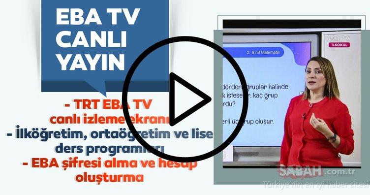 EBA TV canlı yayın ve ders tekrarı nasıl izlenir? EBA TV frekans ayarı bilgisi ve öğrenci giriş şifresi alma! TRT EBA TV canlı izleme ekranı