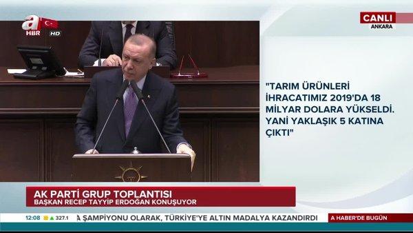 Cumhurbaşkanı Erdoğan'dan AK Parti Grup Toplantısı'nda önemli açıklamalar (26 Şubat 2020 Çarşamba)   Video