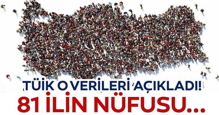 Türkiye'nin nüfusu ne kadar? İşte Türkiye'nin il il nüfusu