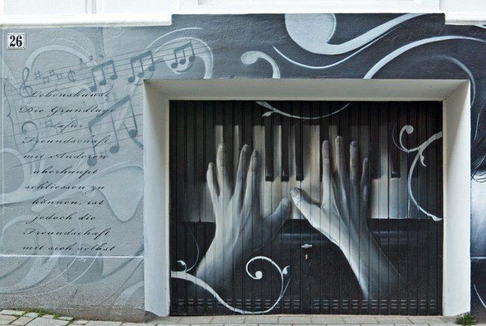 En sıra dışı garaj kapıları
