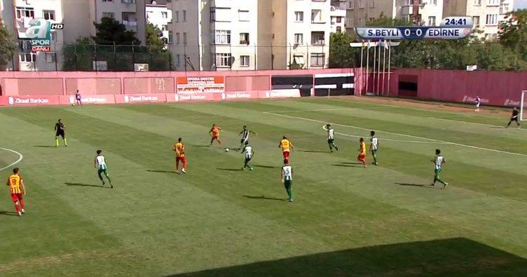 Sultanbeyli Belediyespor 0-1 Edirnespor (Maç Sonucu)