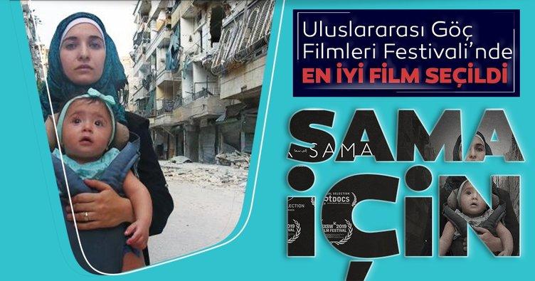 Uluslararası Göç Filmleri Festivali'nde En İyi Film Ödülü'nü Sama İçin kazandı