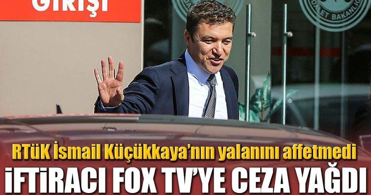 İftiracı FOX TV'ye ceza yağdı