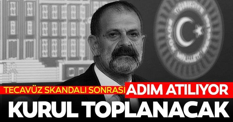 Tecavüz skandalı sonrası HDP'li Tuma Çelik hakkında son dakika gelişmesi: Kurul toplanıyor