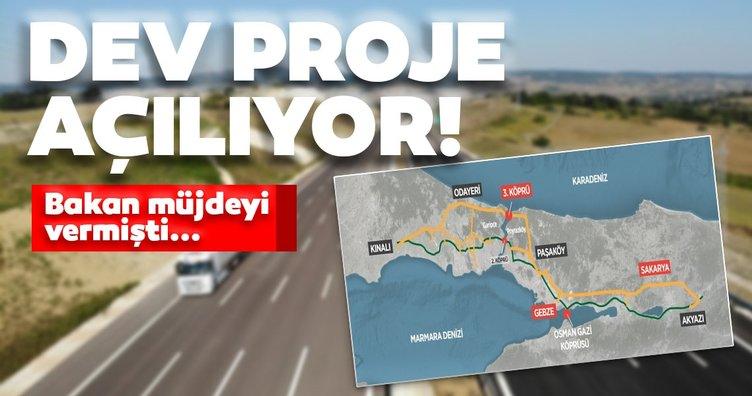 Bakan Karaismailoğlu müjdeyi vermişti: Dev proje açılıyor!