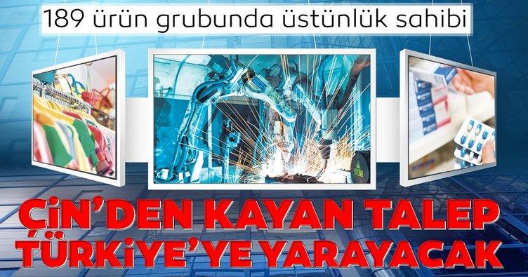Çin'den kayan talep Türkiye'ye yarayacak