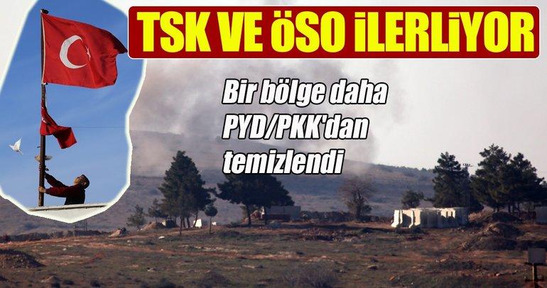 Alkana köyü de PYD/PKK'dan temizlendi