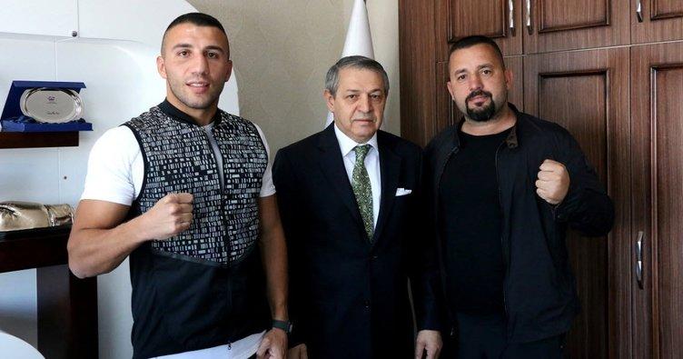 Avni Yıldırım'dan Türkiye Boks Federasyonu Başkanı Gözgeç'e ziyaret