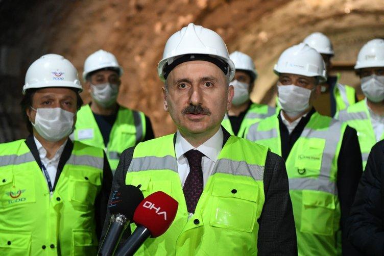 SON DAKİKA: Bakan Karaismailoğlu müjdeyi verdi: İstanbul - Ankara arası 14 dakika kısalacak