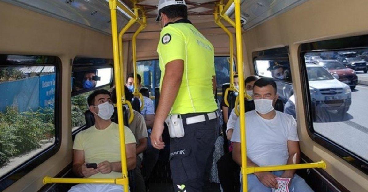 Van'da toplu ulaşım araçlarında ayaktaki yolculara da ceza yazılacak