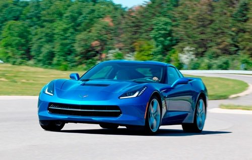 Chevrolet Corvette Stingray Frankfurt'ta sergileniyor