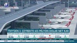 THY'den 3. çeyrekte 655 milyon dolar net kar