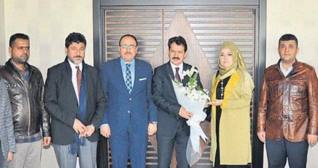 Başsavcı Ali Yeldan'a onursal üyelik verildi