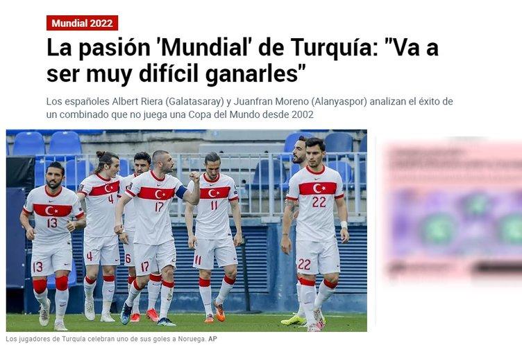 Son dakika: İspanyol basını A Milli Takımımızı konuşuyor! Çarpıcı Şenol Güneş ve Burak Yılmaz sözleri...