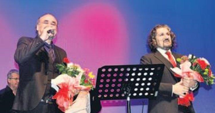 Sevgililer Günü'ne özel konser verildi