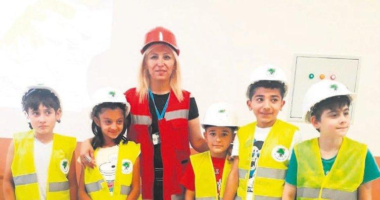 Çocuklara güvenlık eğıtımı