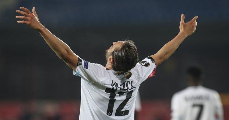 Lille'de hat-trick yapan Yusuf Yazıcı tarihe geçti!