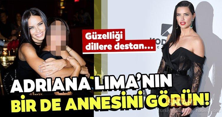 Güzelliğiyle büyüleyen ünlü model Adriana Lima'nın bir de annesini görün! İşte Adriana Lima'nın annesi...