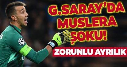 Galatasaray'da Muslera şoku! Zorunlu ayrılık