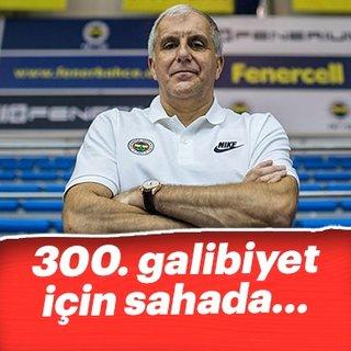 Obradovic, Fenerbah�e'deki 300. galibiyeti i�in sahada