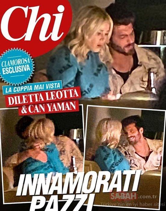 Can Yaman'ın İtalyan aşkı Diletta Leotta güzelliğiyle dudak uçuklattı! İşte Diletta Leotta'nun iddialı pozları...