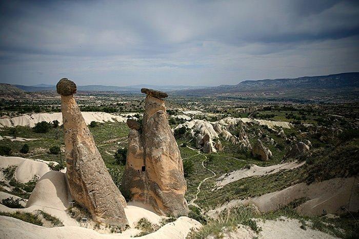 Tarihin doğayla kesiştiği yer: Kapadokya
