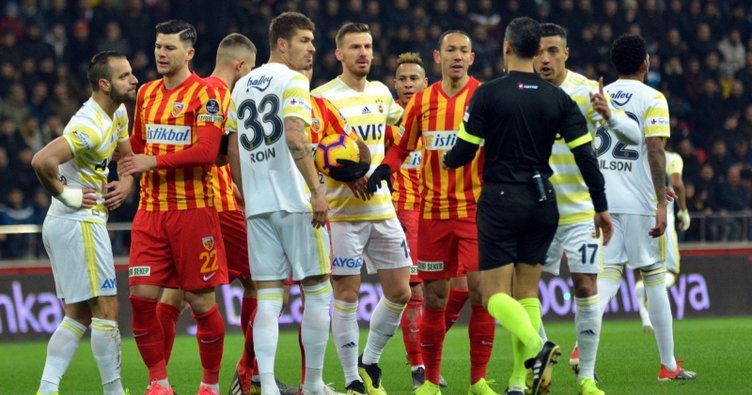 Fenerbahçe, Kayseri'de 87'de yıkıldı
