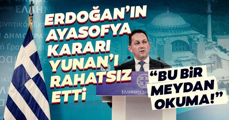 Türkiye'nin Ayasofya kararı Yunanistan'ı rahatsız etti: Bu bir meydan okuma...