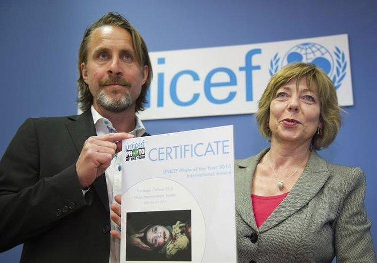 UNICEF yılın fotoğraflarını seçti