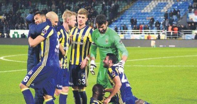 Fenerbahçe'den gol patlaması