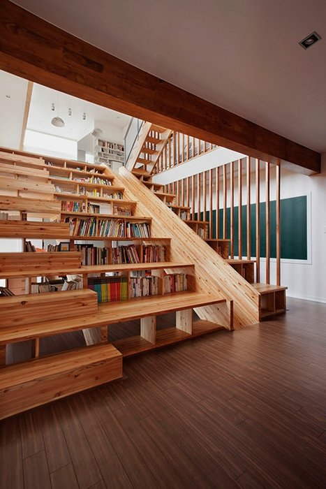 Tasarım harikası kitaplıklar...