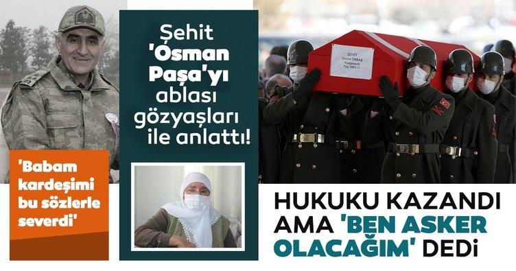 Son dakika haberi: Korgeneral Osman Paşa'yı ablası Hüsniye Korana SABAH'a anlattı! Babası şehit paşaya böyle seslenirmiş...