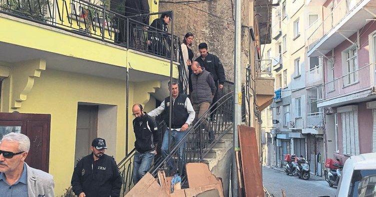 İzmir'de terör operasonu