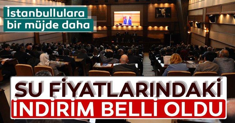 İstanbul'da su fiyatında yüzde 46'ya varan indirim yapıldı