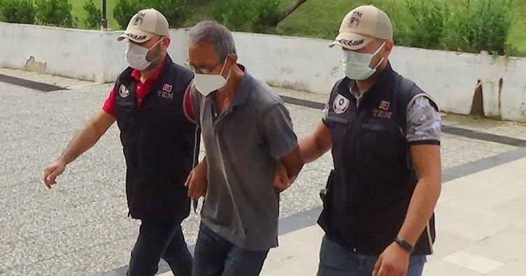Kırmızı bültenle aranan Hüseyin Karakuş cezaevine gönderildi