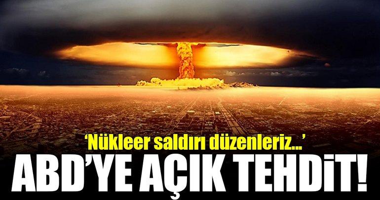 Kuzey Kore'den ABD'ye nükleer saldırı tehdidi!